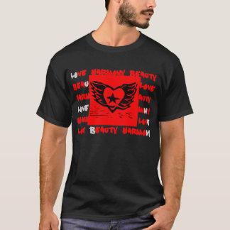 Winged Heart Graffiti Design for Dark Shirts