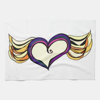 "Winged Heart Kitchen Towel 16"" x 24"""