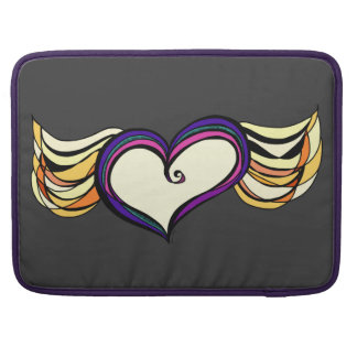 Winged Heart MacBook Pro Notebook Sleeve