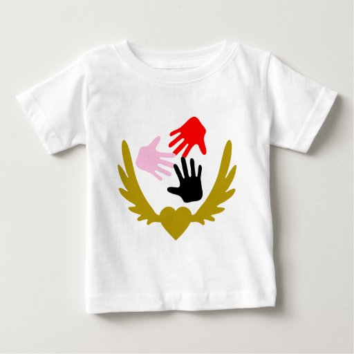Winged-Heart-Peoples.png Baby T-Shirt