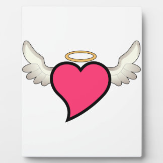 Winged Heart Plaque