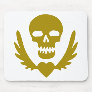 Winged-Heart-Skull.png Mouse Pad