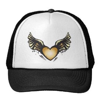Winged Heart Trucker Hat