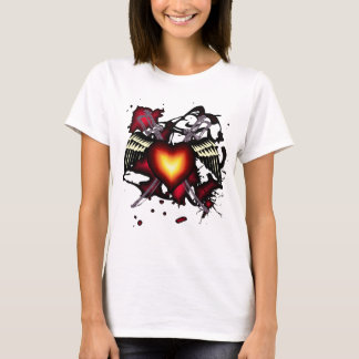 Winged Heart with Swords Shirt