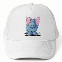 Winged Hippo Gift Trucker Hat