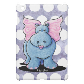 Winged Hippo iPad Mini Case