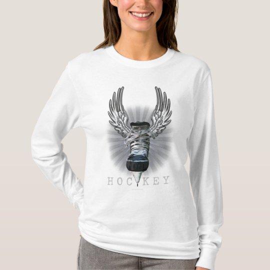 Winged Hockey T-Shirt