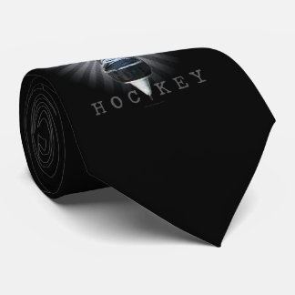 Winged Hockey tie (dark)