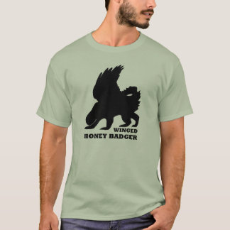 Winged Honey Bager T-Shirt