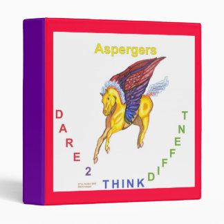 Winged Horse Aspergers Binder