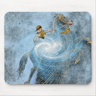 Winged Horse Mouse Pad