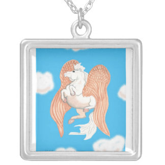Winged Horse Necklace
