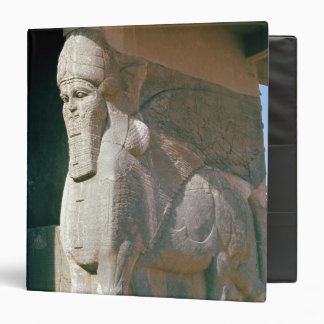 Winged human-headed bull, Neo-Assyrian Period Binder