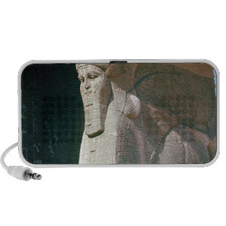 Winged human-headed bull, Neo-Assyrian Period Laptop Speaker
