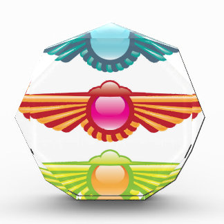 Winged Icon Logo Vector Award