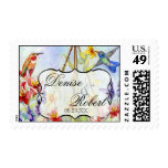 Winged Jewels Hummingbirds - Love  Wedding Postage