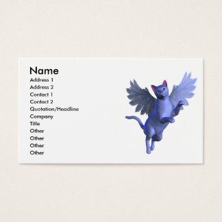 Winged Kitty Profile Card