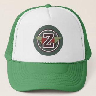 """Winged Letter """"Z"""" Trucker Hat"""