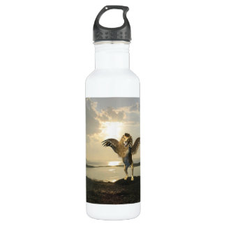 Winged Lion 24oz Water Bottle