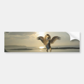 Winged Lion Bumper Stickers