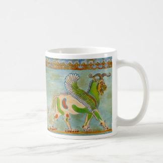 Winged Lion by S Ambrose Coffee Mug
