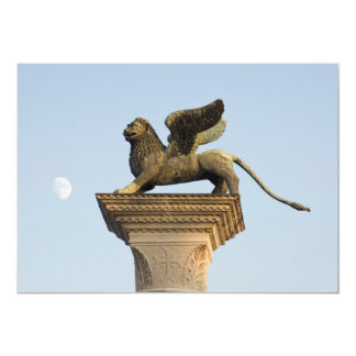 Winged Lion of St. Mark, Venice, Italy Card