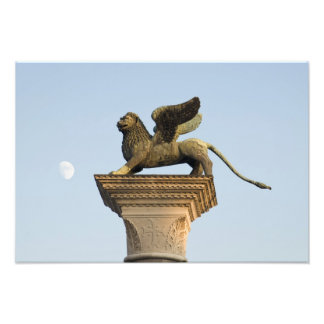 Winged Lion of St. Mark, Venice, Italy Photo