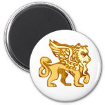 Winged Lion Refrigerator Magnets