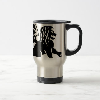 Winged Lion Sitting Travel Mug