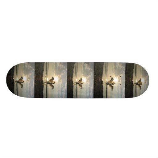Winged Lion Skateboard