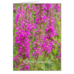 Winged loosestrife congrats greeting card