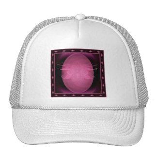 Winged Lotus Abstract Art Trucker Hat