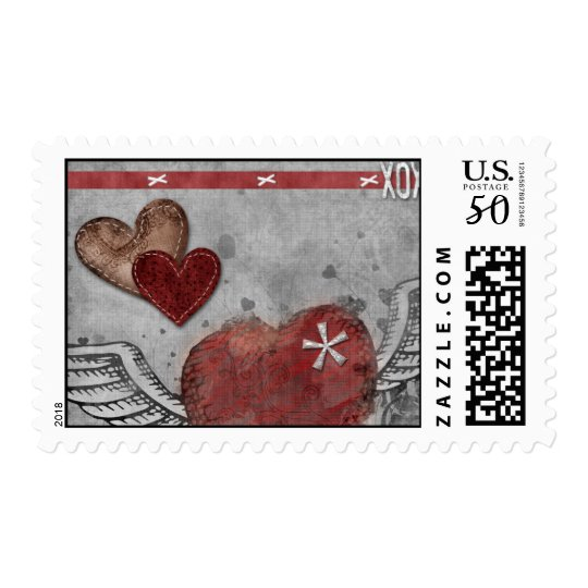 Winged Love Postage