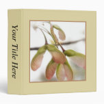 Winged Maple Seed Pods 3 Ring Binder
