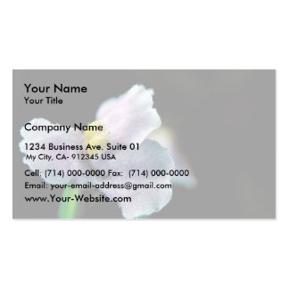 Winged Monkey Flower Double-Sided Standard Business Cards (Pack Of 100)