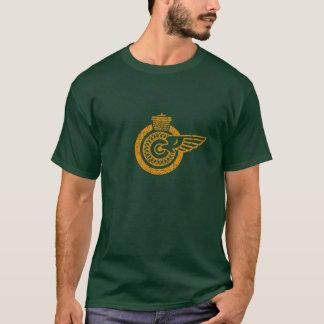 Winged motorcycle wheel T-Shirt