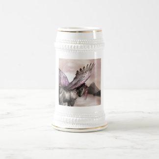 Winged Pegasus  Beer Stein Mug