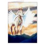 Winged Pegasus CricketDiane Art & Design Card