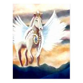 Winged Pegasus CricketDiane Art & Design Post Card