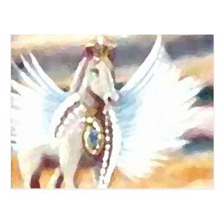 Winged Pegasus CricketDiane Art & Design Post Cards