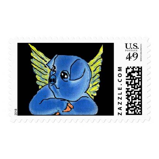 Winged Pig Postage