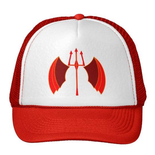 Winged Pitchfork Trucker Hat