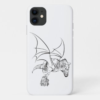 Winged Raptor / Tribal iPhone 11 Case