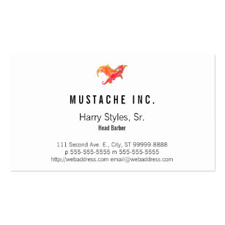 Winged Red Dragon Business Card