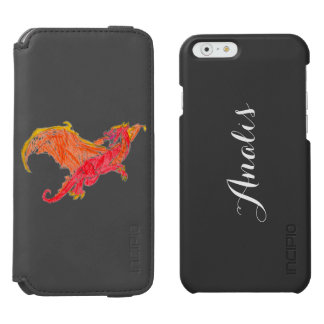 Winged Red Dragon iPhone 6/6s Wallet Case