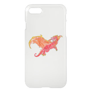 Winged Red Dragon iPhone 8/7 Case