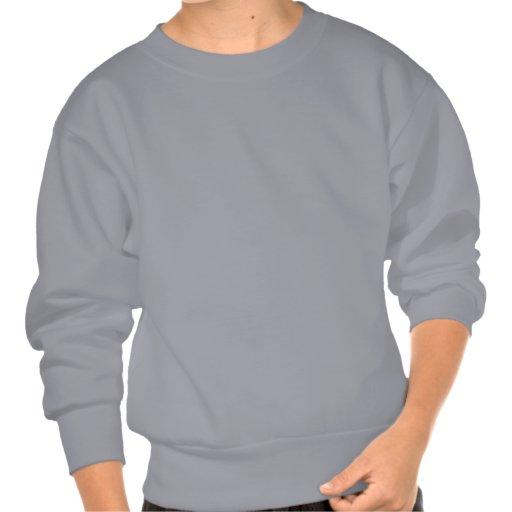 Winged Robot Horse Pullover Sweatshirt