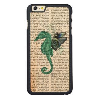 Winged Seahorse Carved® Maple iPhone 6 Plus Slim Case