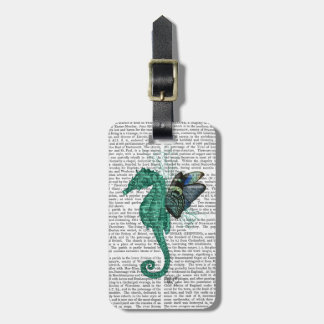 Winged Seahorse Tag For Luggage