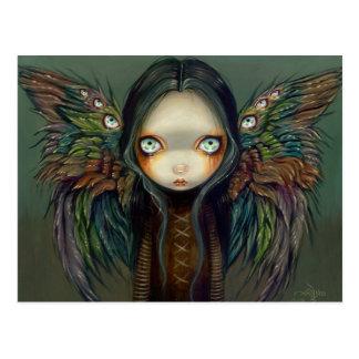 """""""Winged Seer"""" Postcard"""
